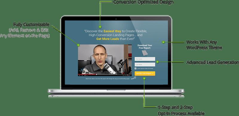 Thrive Landing plugin WordPress